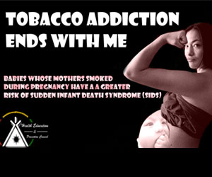Tobacco Addiction Ends With Me